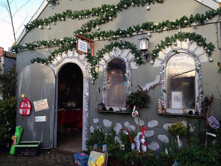 Marktverkoop Smaragd tijdens de Warme Witte Winterweken in Soest